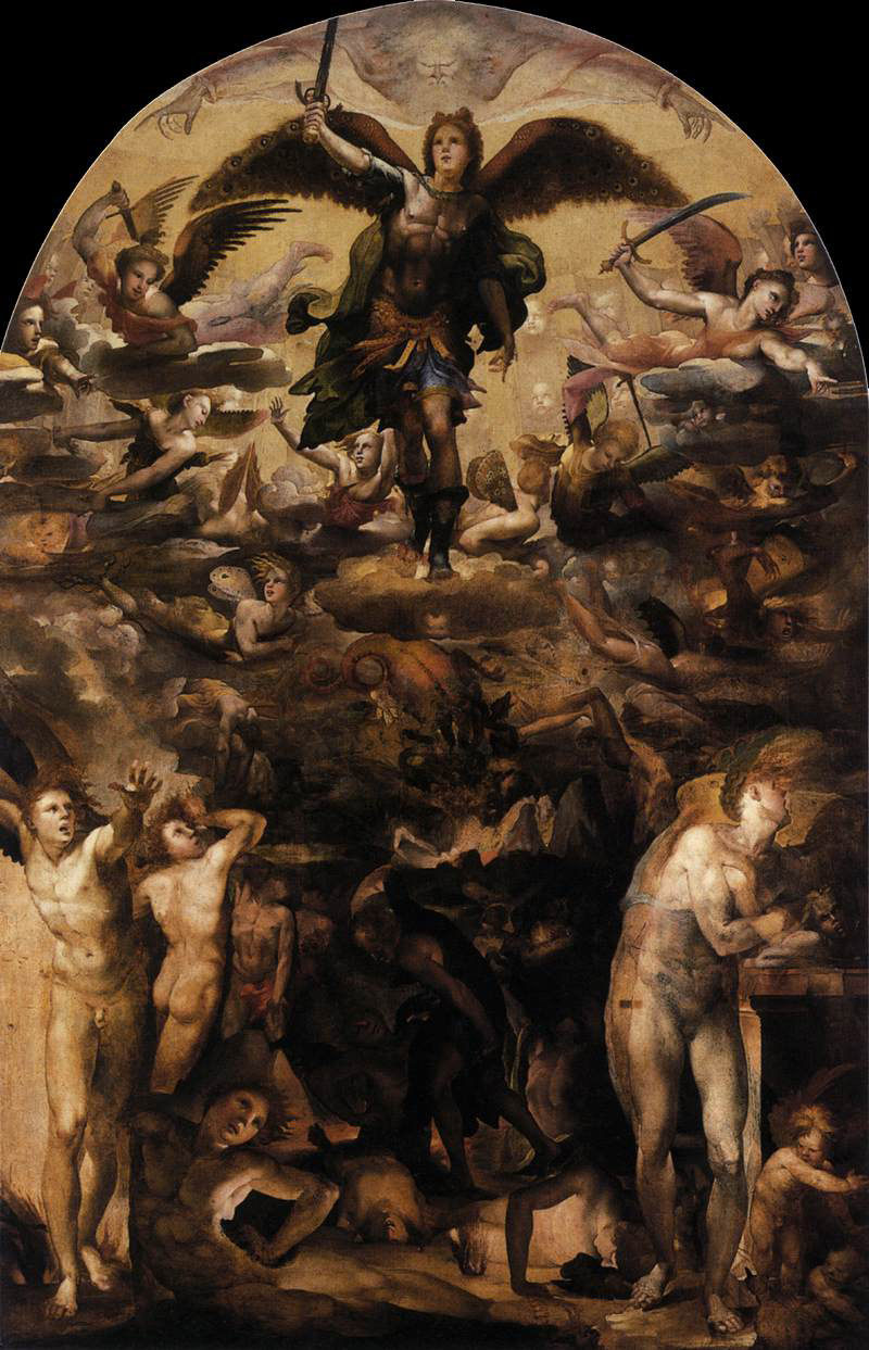 fall-of-the-rebel-angels(Domenico.Beccafumi)