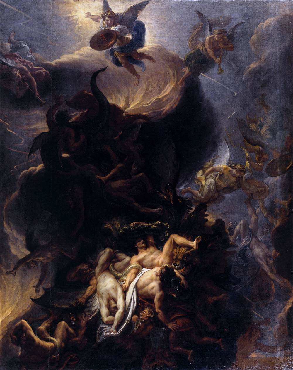 Charles_Le_Brun_-_The_Fall_of_the_Rebel_Angels_-_WGA12546