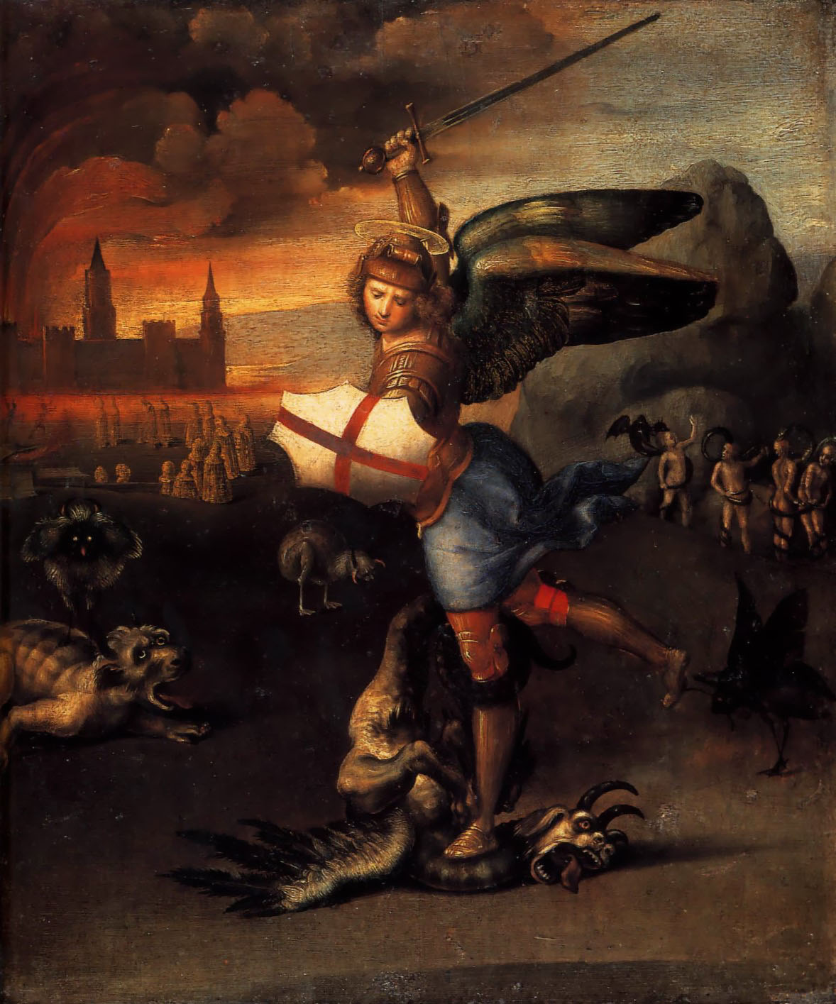st-michael-and-the-dragon-raphael