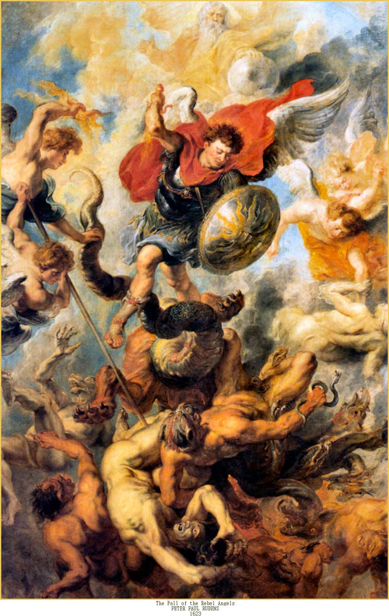 St.-Michael-and-The-Fall-of-the-Rebel-Angels-by-Peter-Paul-Rubens