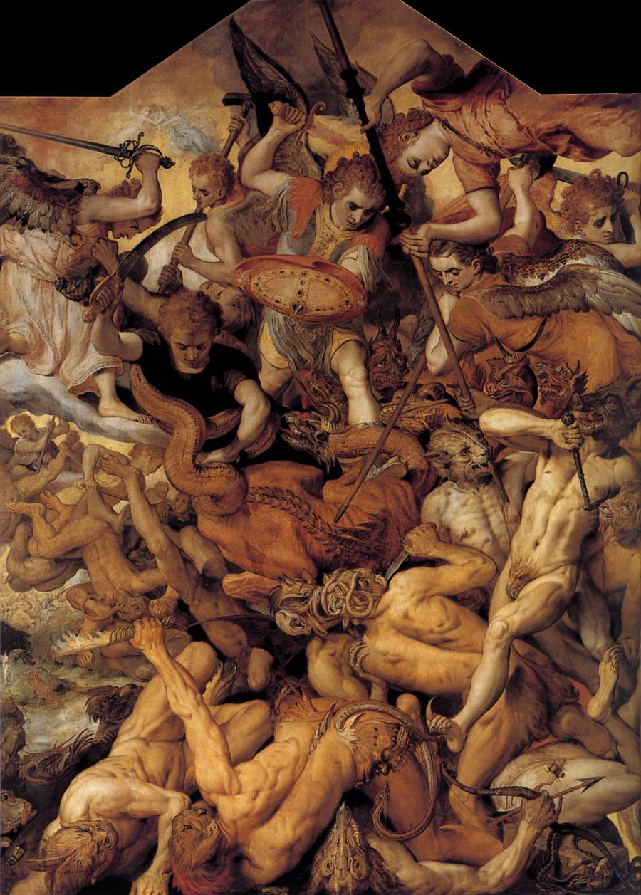 The Fall of the Rebellious Angels (FLORIS, Frans)