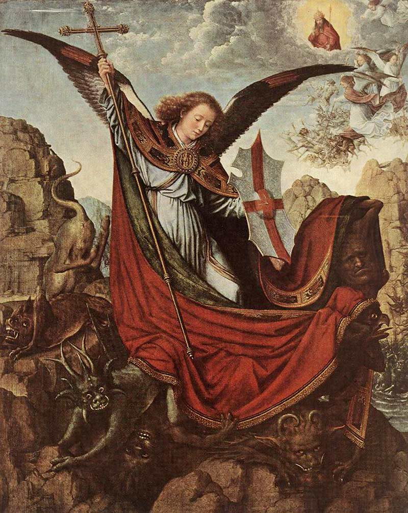 Gerard-David_altar-of-archangel-michael