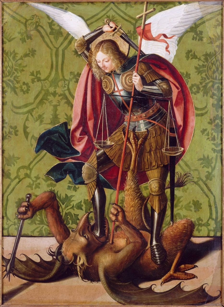 St. Michael Slaying the Dragon - Joss Lieferinx