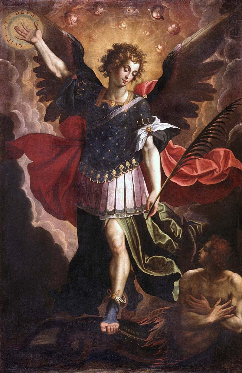 Cristobal Vela Saint Michael the Archangel